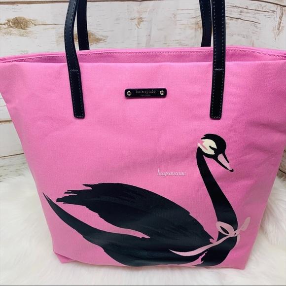 Bon shopper kate spade swan around pink shoulder